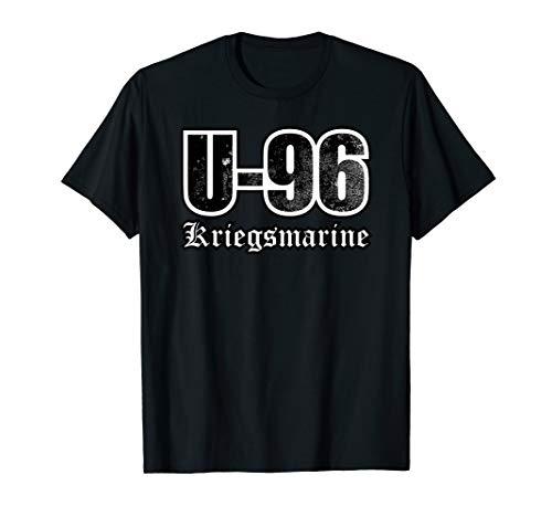 Retro U-Boot T Shirt - U-96 der Kriegsmarine