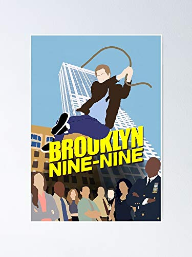 AZSTEEL Brooklyn 99 - Season 6 Poster Poster 11.7 * 16.5