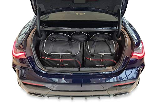 KJUST Car Bags Set 5 pcs compatible with BMW 4 COUPE 2020 - Dedicated to Trunk