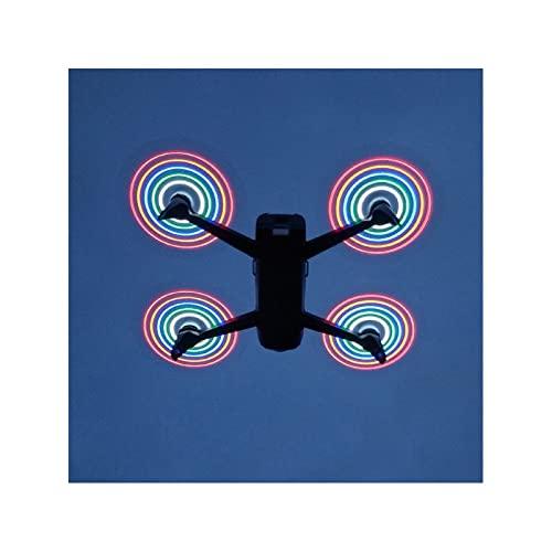 SYFANG Fit for Parrot Bebop 2 Drone Uno o Dos Pares de hélices Cuchillas de Repuesto Recargables Propeller Flash Quadcopter Drone Blades(Color:Two Pairs)