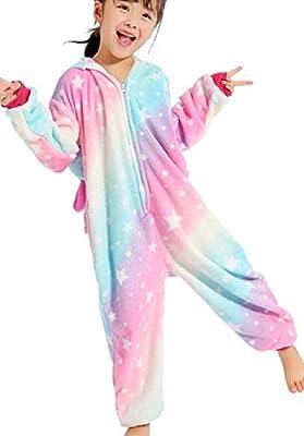 UMIPUBO Pijama Animal Niña Unisexo Cosplay Traje Disfraz Niña Animal Pijamas Onesies Ropa de Dormir Halloween y Navidad Monos con Capucha (ST, XL)