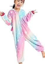 UMIPUBO Pijama Animal Niña Unisexo Cosplay Traje Disfraz Niña Animal Pijamas Onesies Ropa de Dormir Halloween y Navidad Monos con Capucha (ST, XXL)
