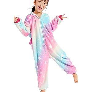 UMIPUBO Pijama Animal Niña Unisexo Cosplay Traje Disfraz Niña Animal Pijamas Onesies Ropa de Dormir Halloween y Navidad…