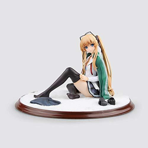 Anime Skulptur Anime Model Figure La Forma de Cultivar a los transeúntes Amante Eriri Spencer Sawamura. En Caja Alto 12 cm