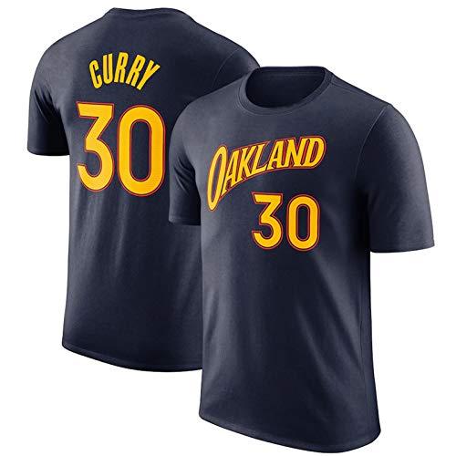 2021 New Temporada Golden State Warriors Stephen Curry Jersey Camiseta para Hombre, Unisex Youth Icon Edition Swingman Jersey, Tela Transpirable y de Secado rápido (XXL