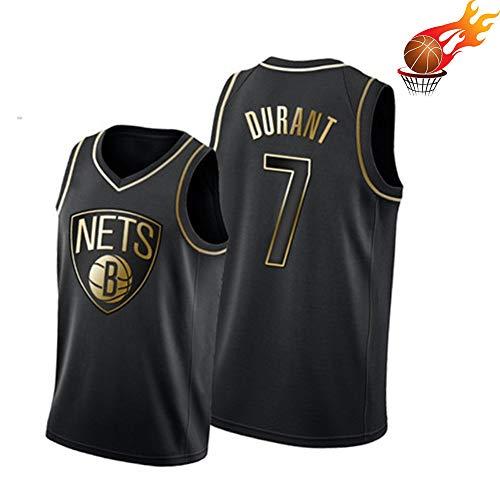 Maillot de Baloncesto para Hombre Kevin Durant 7# Brooklyn Nets, Chaleco de Verano para jóvenes All-Star Edition, Maillot de Baloncesto Transpirable Swingman 2XL-M(173~177)