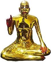 VRINDAVANBAZAAR.COM Bhaktivedanta Swami Prabhupada Brass Statue -Height 4 inch