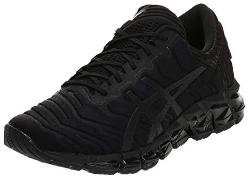 Asics Gel-Quantum 360 5, Zapatillas de Running Hombre, Negro (Black/Black 002), 42 EU