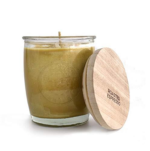 Swan Creek Candle Roasted Espresso 10 Ounce Logo Jar 50304