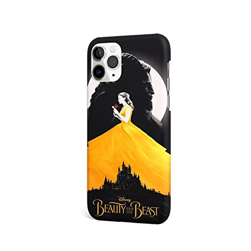 B_Eauty and The Beast Design Case Compatible for iPhone 12 Pro Max Phone Case (6.7 Inch)