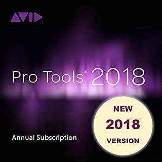 Avid Pro Tools 2018 Annual Subscription (Download Card + iLok)