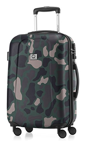 Hauptstadtkoffer  camouflage bunt, 2.9 Liter