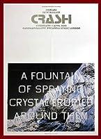 ポスター エドワード ルッシェ Fountain of Crystal 2009 額装品 ウッドベーシックフレーム(レッド)