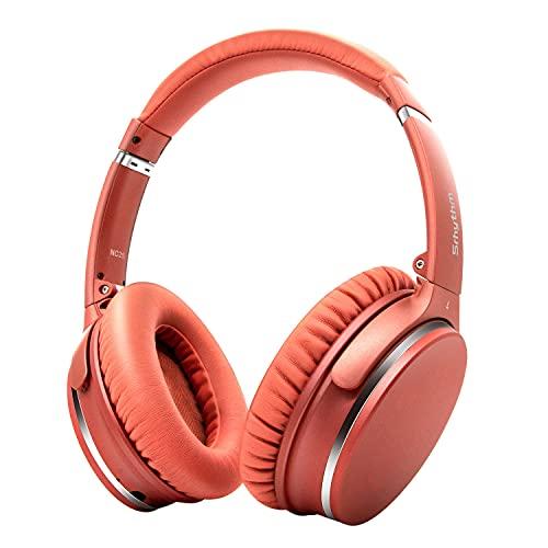 【Amazon限定ブランド】 ノイズキャンセリング ヘッドホン Bluetooth 5.0 ワイヤレス 自動ペアリング オーバーイヤー マイク付き 50時間音楽再生 重低音 密閉型 折り畳み式 ブルートゥース ヘッドホン オレンジ Srhythm