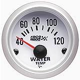 Sumex Gaug504 - Termómetro Temperatura Agua'Race Sport', Diámetro 52 mm, 12V