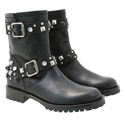 TOSCA BLU GISELLE Enkellaarzen/Low boots dames Zwart Laarzen