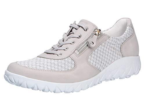 Waldläufer Damen Sneaker Havy Soft kombi weiss Gr. 39