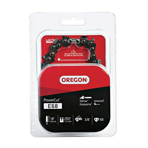 Oregon E68 PowerCut 18-Inch Chainsaw Chain, Fits Dolmar, Husqvarna, Jonsered