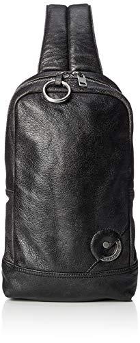 (ディーゼル) DIESEL メンズ バッグ シープレザー ボディバッグ X06485P1856 UNI ブラック H1532