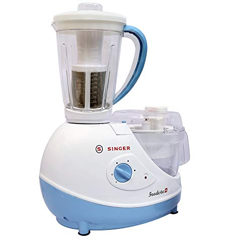 Singer Foodista Plus 600 Watts Food Processor with...