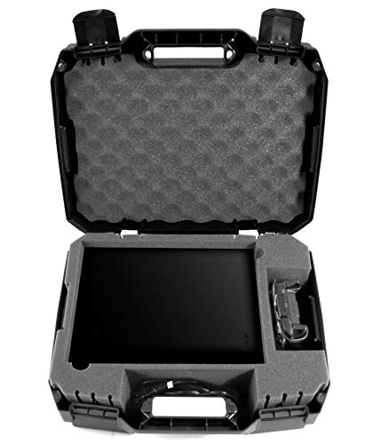 CASEMATIX Travel Case Compatible with Xbox One X - Hard Shell Xbox One X Carrying Case with...