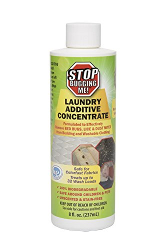 RatX 100534271 Stop Bugging Me 1 Ea/8 oz Laundry Additive, White