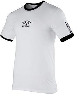 Umbro Essential Big Logo Maglia Maglietta T-shirt Nero Uomo Cotone