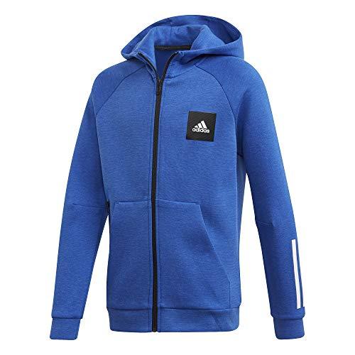 adidas Unisex Kinder A Mhe Full Zip Sweatshirt, Tmrobl, 134