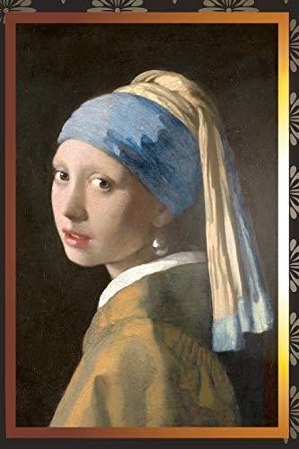Das Mädchen mit dem Perlenohrgehänge - Jan Vermeer 1665: Notizbuch, Tagebuch, Journal, liniert