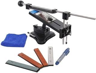 Knife Sharpener, AGPTEK Second Professional Kitchen Knives Sharpen Tool System Fix-angle With 4 Stones(#120, 320, 600, 1500)