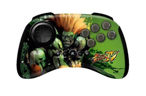 Mad Catz Street Fighter IV FightPad - Blanka - Volante/mando (Mando de...