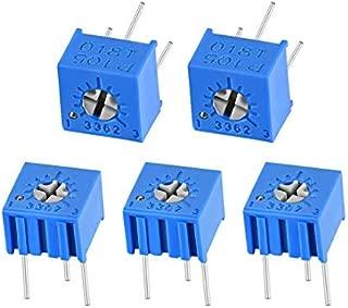 10 pz Trimmer multigiro 500 ohm 25 giri 10 pezzi 500R multigiri verticale