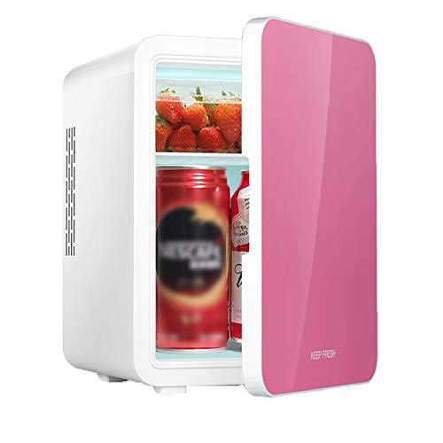 wangt auto-koelkast-koeler, 4 liter, mini-mute-koelkasten, dubbele spannings-koelkasten, compacte koelbox met AC + DC-stroom