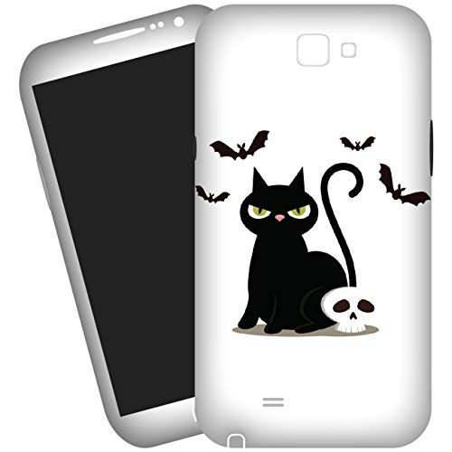 My Custom Style Cover 2D #Halloween-Gatto Nero_2# per Huawei G Play Mini