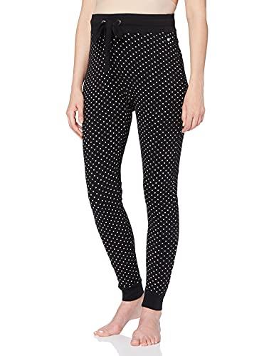 ESPRIT Maternity Pants Jersey Utb Aop Pantaloni pigiama premaman Donna, Nero (Black 001) 44 (Taglia Produttore: Medium)