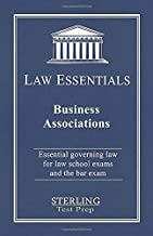 Business Associations, Law Essentials: Governing Law for Law School and Bar Exam Prep