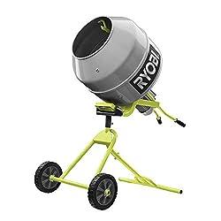 in budget affordable RYOBI RMX001 5.0cc ft.Portable concrete mixer