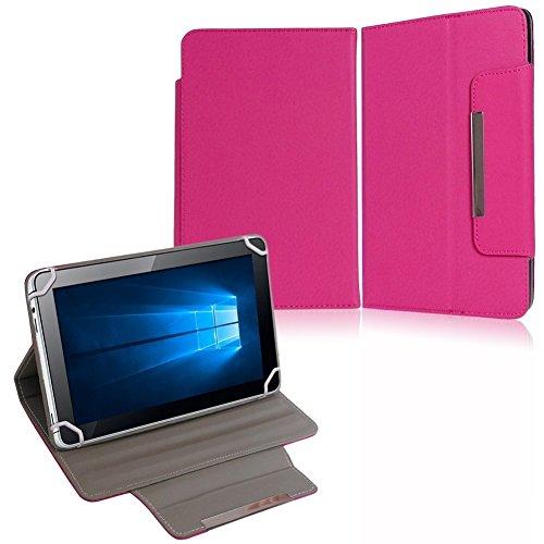 NAUC Tasche Hülle Schutzhülle für HP Pro Slate 8 Hülle Schutz Cover Schutzhülle, Farben:Pink