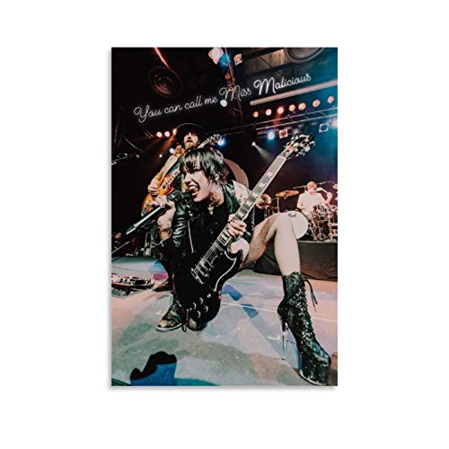 CHAOZHE Lzzy Hale, Halestorm, Female Guitarist Canvas Art Poster and Wall Art Picture Print Modern Family Bedroom Decor Posters 20x30inch(50x75cm)
