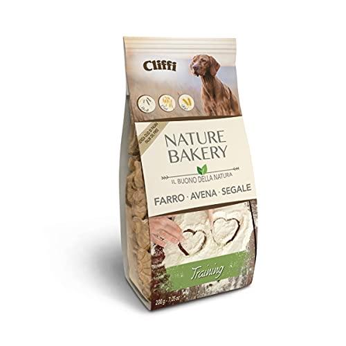 Cliffi Biscotti per cani TRAINING NATURE BAKERY 100% Naturali - Perfetti durante l'addestramento - 200 gr