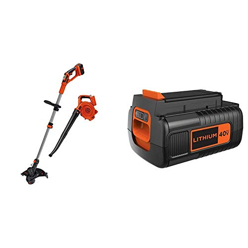 Big Save! BLACK+DECKER LCC140 40-Volt Max String Trimmer and Sweeper Lithium Ion Co