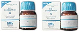 2 pack X SBL Homeopathy - Bio Combination - Cough, Cold and Catarh - -