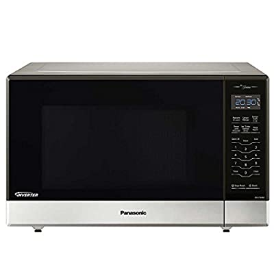 Panasonic NN-ST696S Countertop/Built-In Microwave with Inverter Technology, 1.2 cu. ft. , Stainless (Renewed)