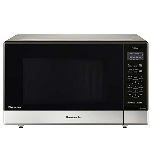 Panasonic NN-ST696S Countertop/Built-In Microwave with Inverter Technology, 1.2 cu. ft. , Stainless...