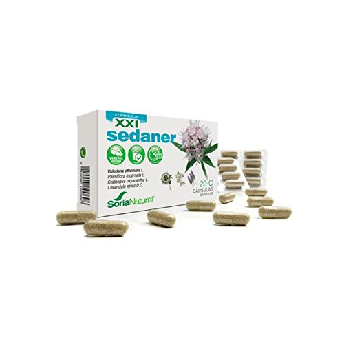 Sedaner Cápsulas 29-C Fórmula XXI 30 cápsulas de 690 mg de Soria Natural