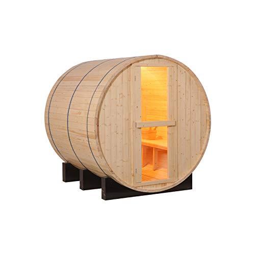 Woody24 Saunafass/Außensauna 1,8 m x 2,4 m