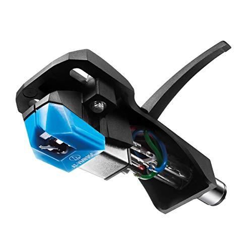 Audio-Technica Kit combo de cabeça/cartucho para toca-discos AT-VM95C/H azul