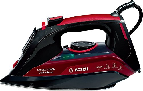 Bosch TDA5070GB Steam Iron, 3050 W, Black/Red