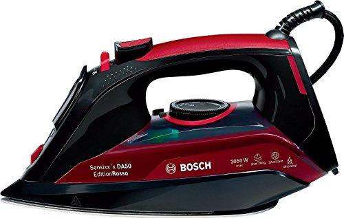 Bosch TDA5070GB Sensixx'x DA50 EditionRosso Steam Iron, 3050 W, Black/Red