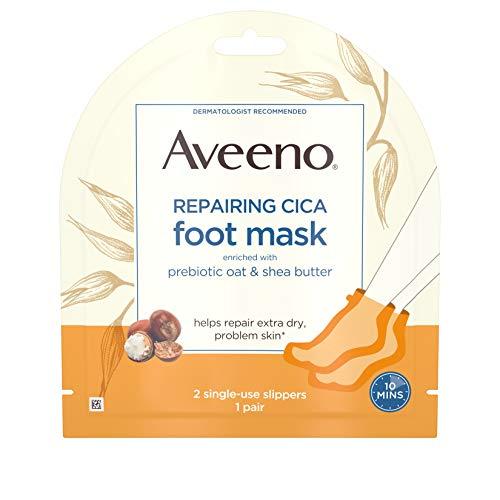 aveeno repairing cica foot mask review